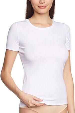 Calida Women's Top kurzarm Mood - 14250 Plain Vest