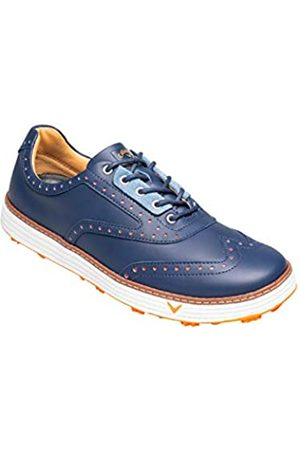 Callaway Men's Del Mar Retro Waterproof Spikeless Golf Shoes, Navy)