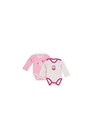 Salt & Pepper Salt and Pepper Baby Girls' NB Body 2er Set Bodysuit