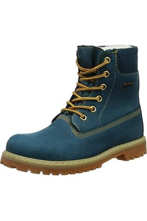 Däumling Boys' Timmy St-Andi-Aspen Cowboy Boots, (Denver Petrol 50)