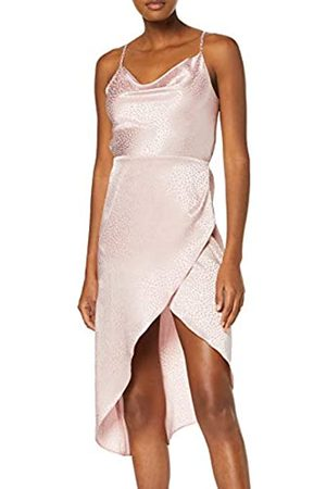 New Look Women's Satin Cowl Party Dress