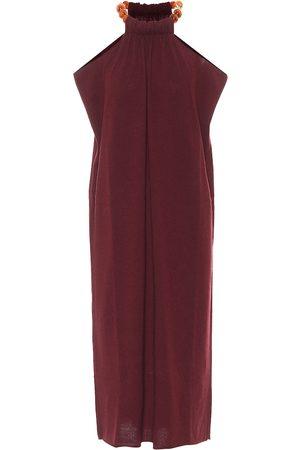Jil Sander Halterneck wool and cashmere dress