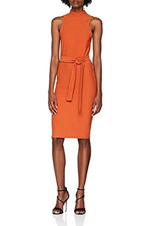 New Look Women's Tie Front Sleevless 6115089 Mini Party Dress