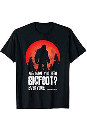 Awkward Silence SpecialTee Co Bigfoot Hunters Gift - Funny Sasquatch Awkward Silence T-Shirt