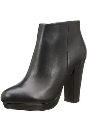 Buffalo Women's 410-10645 L Silk Leather Ankle Boots, ( 01)