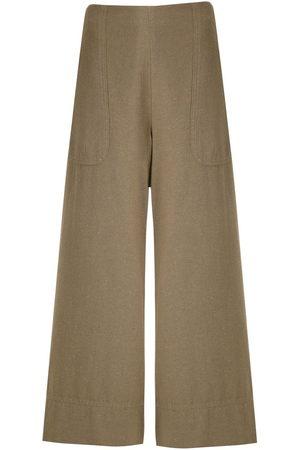 OSKLEN Wide-leg cropped trousers