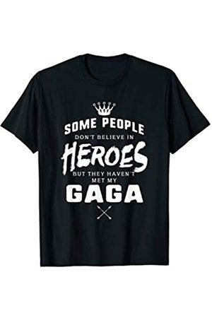 Graphic 365 Graphics 365 Gaga Is My Hero Mothers Day Grandma Gift T-Shirt