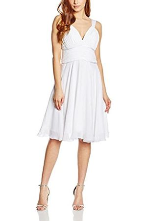 Astrapahl Women's Co8008ap Knee-Length Plain Cocktail Sleeveless Dress