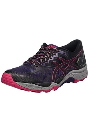 Asics Women's Gel-Fujitrabuco 6 G-TX Running Shoes, Multicolor (Mysterioso/ /Cosmo )