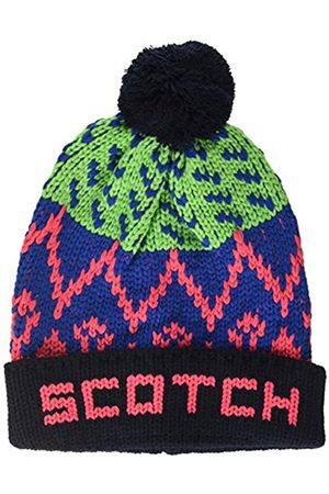 Scotch&Soda Men's Patterned Ski pom Beanie Baseball Cap