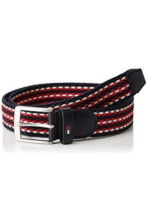 Tommy Hilfiger Men's Adan Stripe Elastic Belt 3.5