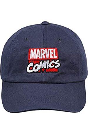 Marvel Men's Stack Logo Flat Cap