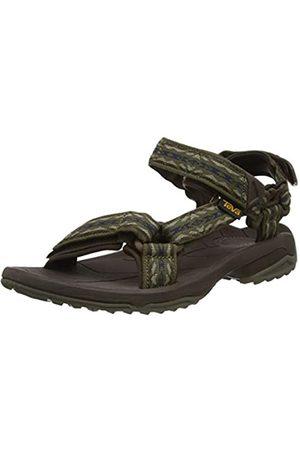 Teva Men's Terra Fi Lite Open Toe Sandals, (Rambler Dark Olive Dov)