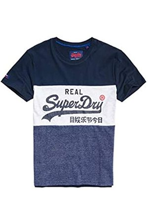 Superdry Men's Vintage Logo Panel Tee Kniited Tank Top