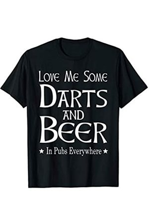 Darts And Beer Gifts For Men Women Darts And Beer Funny Dart Player Game Gift T-Shirt