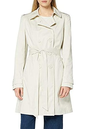 FIND Amazon Brand - Women's Trench Coat with Shoulder Epaulets and Belt, 12