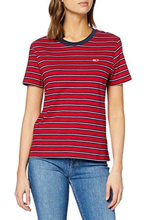 Tommy Hilfiger Women's TJW Tommy Classics Stripe TEE Sports Knitwear