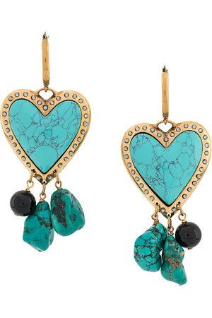 La DoubleJ Cuore Piccolo earrings