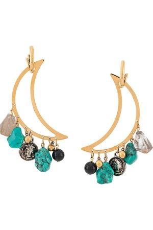 La DoubleJ Women Necklaces - Luna pendant earrings