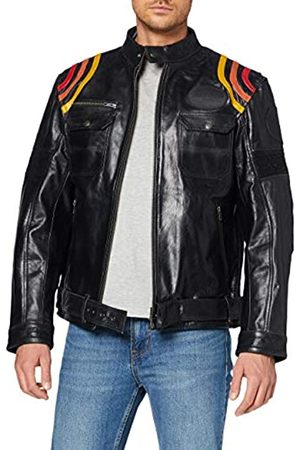 King kerosin Men's Motorrad Leather Jacket