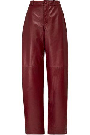 NYNNE Briony High Waist Leather Pants