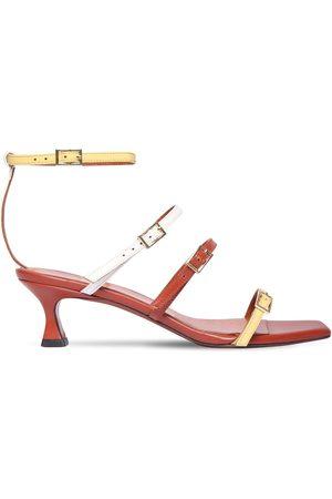 MANU 50mm Naomi Leather Sandals