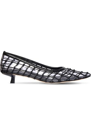 Cult Gaia Women Heels - 20mm Kenny Pvc & Leather Pumps