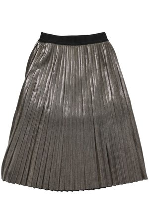Karl Lagerfeld Women Pleated Skirts - Pleated Lurex Skirt