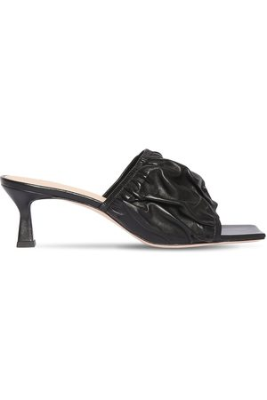 Wandler 55mm Ava Leather Sandals