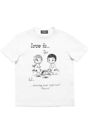 Dsquared2 Love Is Capsule Print Jersey T-shirt