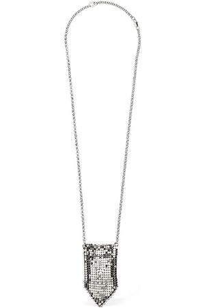 Paco rabanne Women Necklaces - Small Mesh Pendant Necklace