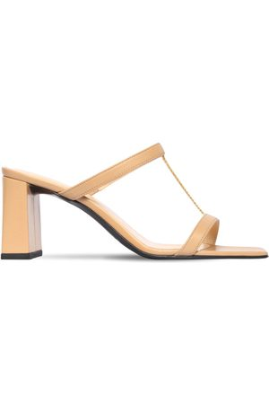By Far 80mm Chloe Leather Sandals