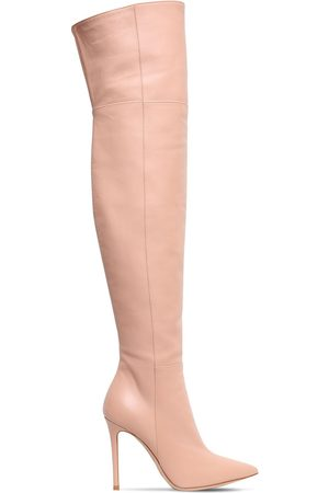 Gianvito Rossi 105mm Leather Over-the-knee Boots