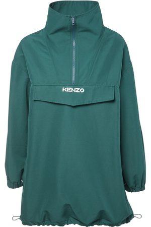 Kenzo High Collar Cotton Blend Jacket