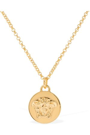 VERSACE Medusa Coin Long Necklace
