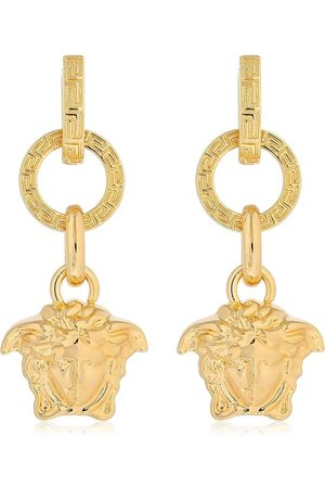 VERSACE Women Earrings - Small Medusa Palazzo Hoops Earrings