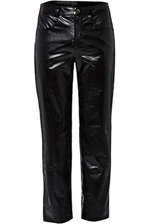 Svenjoyment Men's 21401101710 Faux Leather M Trousers