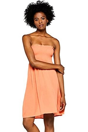 IRIS & LILLY Amazon Brand - Women's Strapless Smock Cover-Up Dress, M