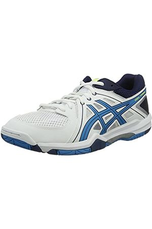 Asics Men's Gel Task Volleyball Shoes, Blanc ( / Jewel/Safety )