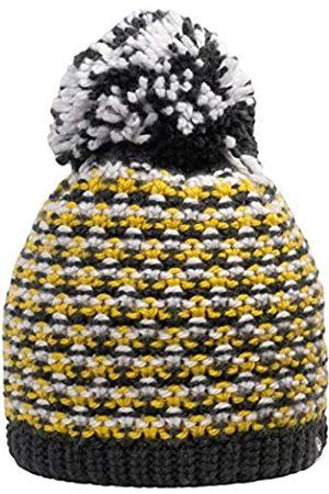 Giesswein Beanie Turnerkamp ONE - Cuddly Knitted hat for Children, Merino Wool, Fluffy Bobble Made of Wool, Warm Fleece Lining