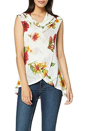 Dorothy Perkins Women's Sleeveless Soft Cowl Floral WRAP TOP Blouse