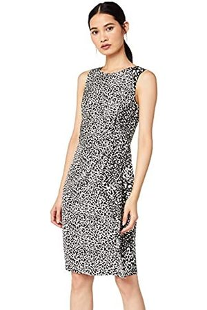 TRUTH & FABLE Amazon Brand - Women's Dress Twist Front Tunic, 10