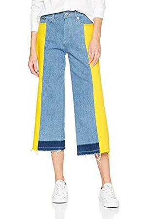Tommy Hilfiger Women's Mid Rise Culotte Annie Flared Jeans