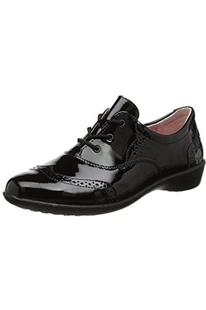 Ricosta Girls' Kate Brogues, (Schwarz 093)