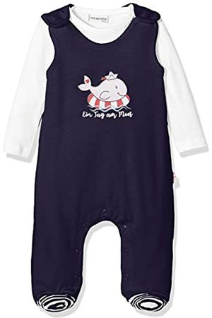 Salt & Pepper Salt and Pepper Baby Girls' mit Walmotiv Glitzerdruck Footies