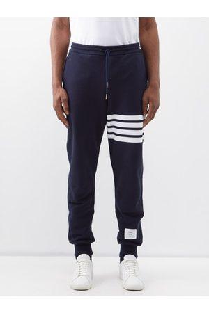 Thom Browne Striped Cotton Track Pants - Mens