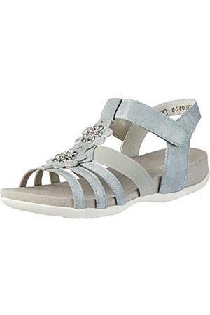 Rieker Kinder K2266, Girls' Sandals, Gray (Silber/Platin)