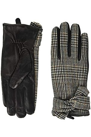 Dorothy Perkins Women's Check Bow Leather Gloves