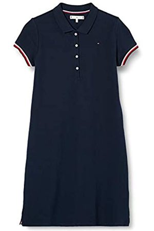 Tommy Hilfiger Girl's Essential Script Polo Dress S/S