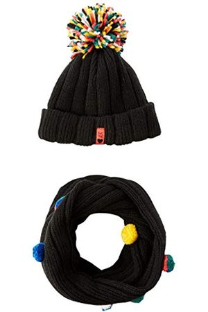 Tuc Tuc Girl's 50635 Scarf, Hat & Glove Set, (Negro 30)